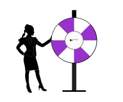 110cm Prize Wheel