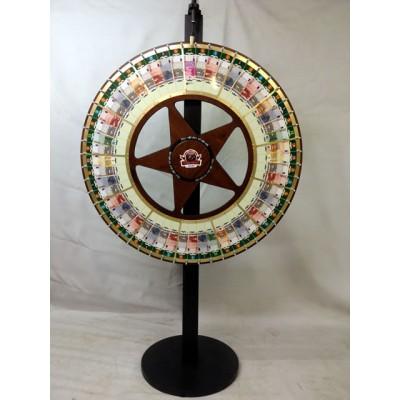 Vegas Style Money Wheel With Euros
