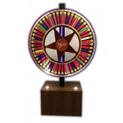 Vegas Style Prize Wheel With LED Lighting