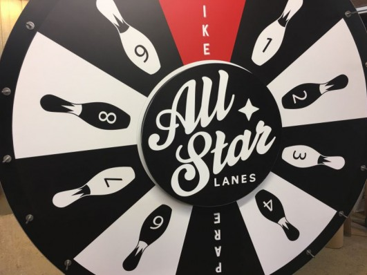 All Star Prize Wheel