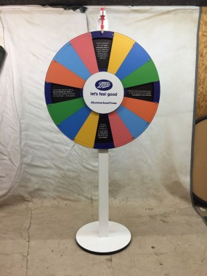 Boots Prize Wheel