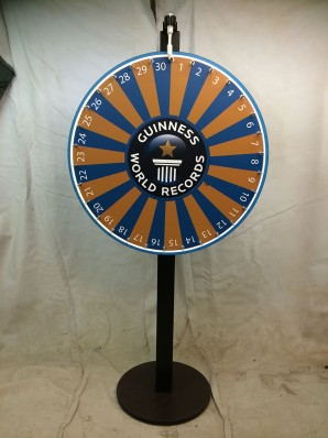 Guiness World of Records Prize Wheel