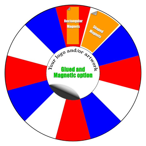 80cm Tabletop Prize Wheel