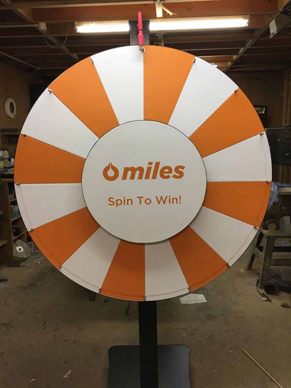 Prize Wheels UK - Custom Prize Wheels - Money Wheels - Big